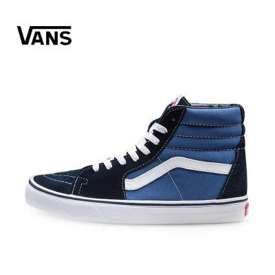 范斯vans高帮男鞋经典款翻毛皮滑板鞋女鞋VN000D5IB8C
