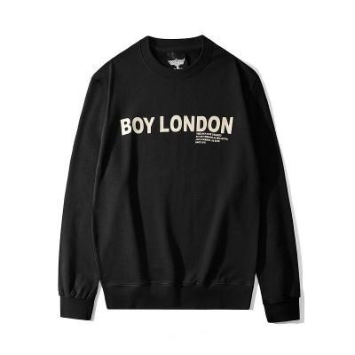 BOY LONDON 新款黑金圆领长袖套头卫衣老鹰