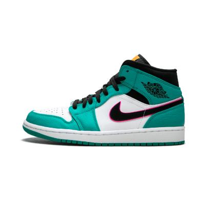 Air Jordan 1 MID SE aj1男鞋 南海岸 中帮篮球鞋- 852542 306