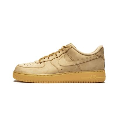 Nike Air Force 1 07 AF1 空军一号 低帮小麦色男鞋