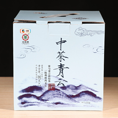 中粮中茶牌 云南普洱茶 2017年中茶青云庄园系列生茶饼 357g