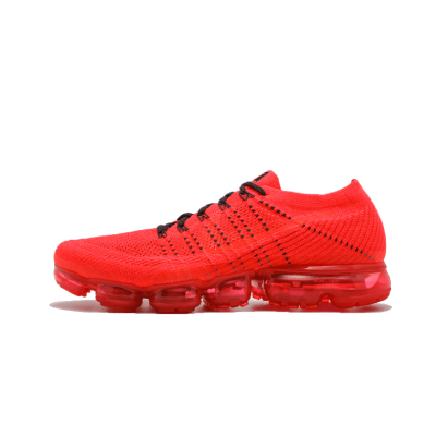 Nike Air Vapormax CLOT联名大红色全掌气垫跑鞋