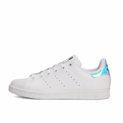 Adidas Stan Smith AQ6272三叶草镭射镜面尾休闲板鞋