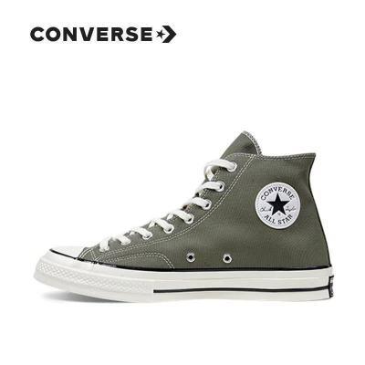 Converse/匡威女鞋帆布鞋1970s三星标高帮经典款板鞋