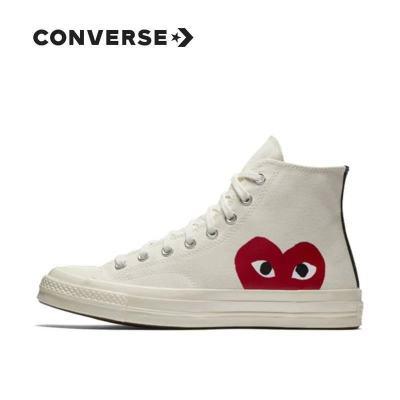 Converse 70s x CDG Play匡威 川久保玲联名款情侣帆布鞋150204C