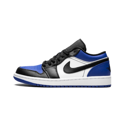 Air Jordan 1 Low AJ1 白蓝小闪电 男低帮篮球鞋- CQ9446 400