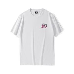 潮牌stussy短袖 DYNASTY 王朝龙王logo纯棉T恤圆领半袖男女情侣装