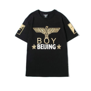 BOY LONDON 新款圆领短袖套头T恤北京英文