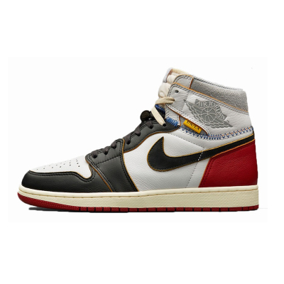 Union x Air Jordan1 Retro AJ1 联名拼接
