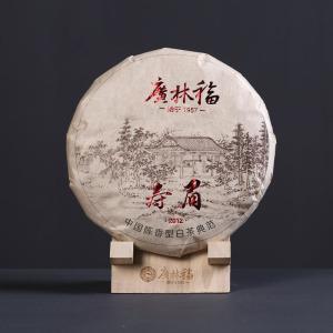 广林福 福鼎高山白茶 2012年寿眉 老白茶 茶叶360克