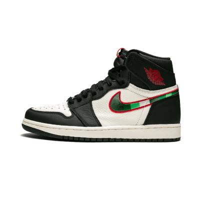 Air Jordan 1 Sports AJ1 乔1 体育画报 天生巨星刺绣