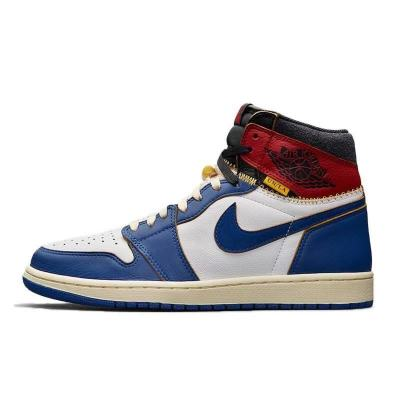 Air Jordan 1 AJ x UNION 联名限定 拼接 蓝脚趾