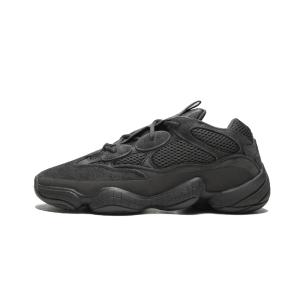 Adidas Yeezy 500 侃爷椰子老爹鞋黑色 Utility Black
