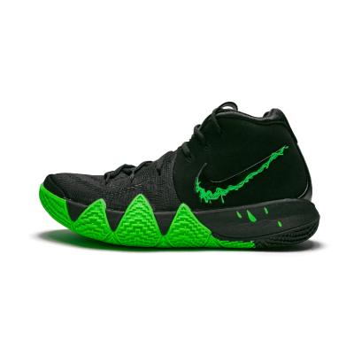Nike Kyrie4 欧文4 Halloween万圣节黑绿篮球鞋943806-012