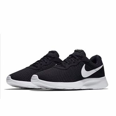 NIKE耐克男鞋春季TANJUN黑白透气运动跑步鞋