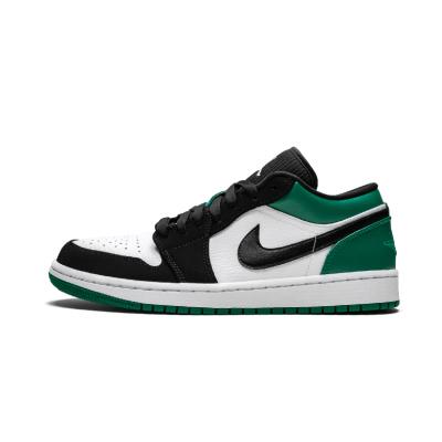 Air Jordan 1 Low AJ1凯尔特人黑绿脚趾 低帮篮球鞋 - 553558 113