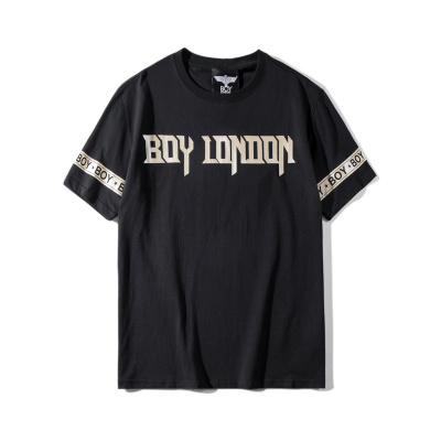 BOY LONDON 新款黑金圆领短袖套头T恤老鹰