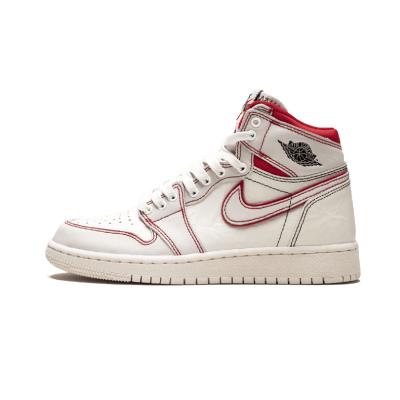 Air Jordan 1 OG AJ1 白红手稿兔八哥