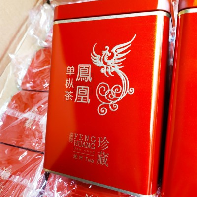凤凰单枞茶高山茶叶乌岽蜜兰香单枞茶潮州单枞茶1斤共两罐礼盒套装单丛茶