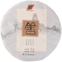班章老树茶厂上善若水 原生态陈香普洱茶生茶砖 357克 若生