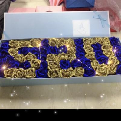 蓝色妖姬520