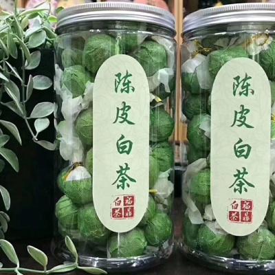 2013年福鼎白茶陈皮老白茶一斤两罐装