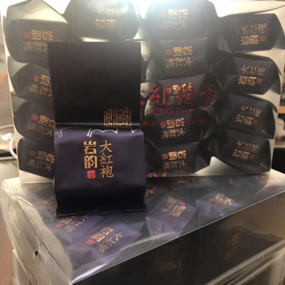 2019新茶武夷山岩韵大红袍乌龙茶纯手工茶叶礼盒装一斤四盒
