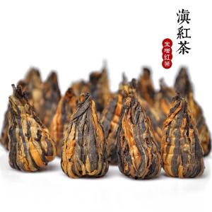 2020春茶滇红金丝金芽宝塔云南凤庆古树红茶蜜香型手工小宝塔250g