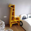 大型儿童长颈鹿置物书架创意家居幼儿园学校图书馆装饰落地摆件木