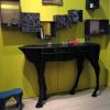 新款法国半身马玄关桌置物书架创意家居服装店网红店装饰木质落地