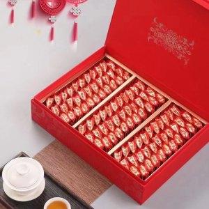 茶农直销新茶红茶金骏眉礼罐装500克浓香型茶叶黄牙蜜香茶