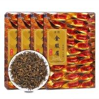 茶叶 红茶金骏眉500克浓香型武夷山袋散装(4盒100小包)