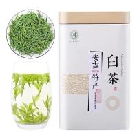 批发特级安吉白茶新茶正宗产地绿茶雨前奶香黄金芽毛峰茶250g