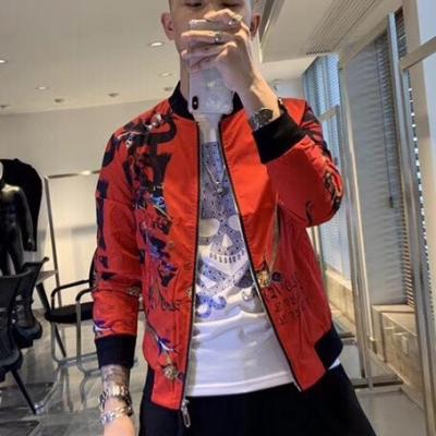 男士加棉夹克外套 2019新专柜同步潮牌米兰时装走秀专柜系列